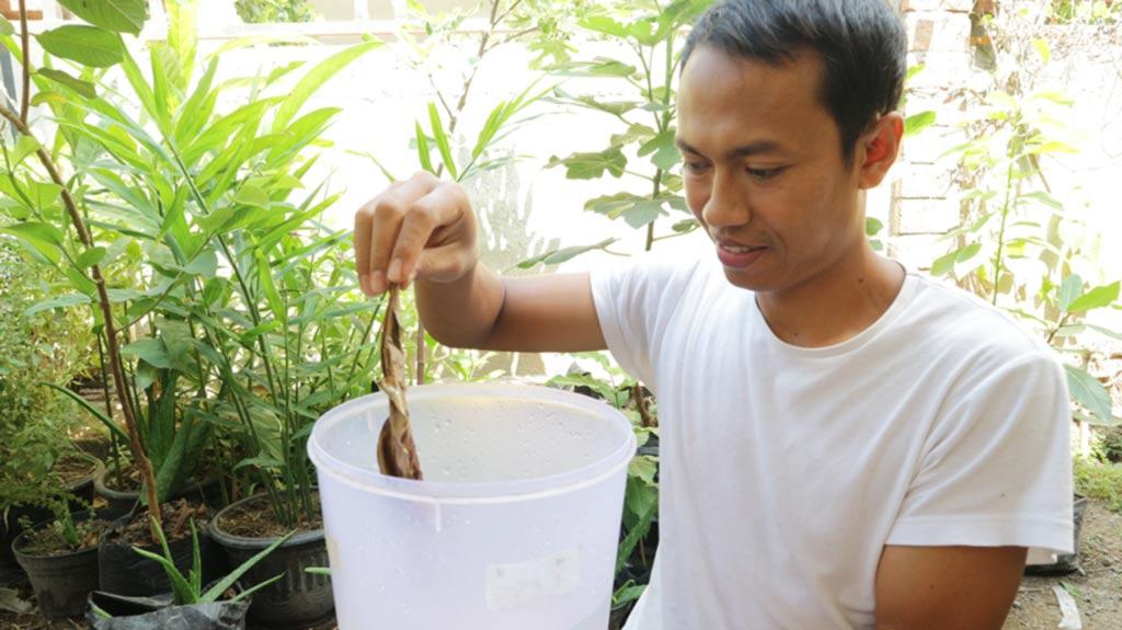 cara menghilangkan kaporit air PAM